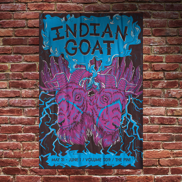 Volume Poster Show featured image of Indian Goat Band Illustration