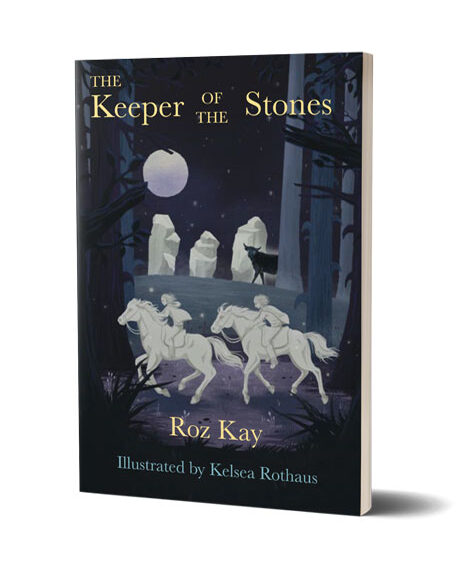 The full Keeper of the Stones book illustrated by Kelsea Rothaus
